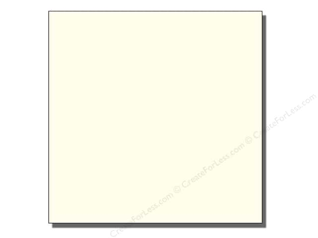 Bazzill 12 x 12 in. Cardstock Grasscloth French Vanilla (25 sheets)