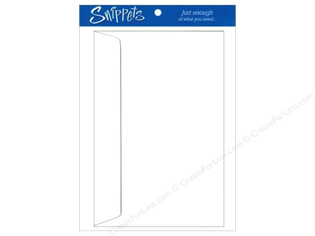 6 x 9 in. Envelopes by Paper Accents 4 pc. #128 White