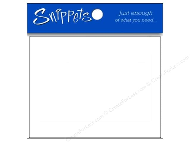 Post Cards by Paper Accents  4 1/4 x 5 1/2 Blank 10 pc. White