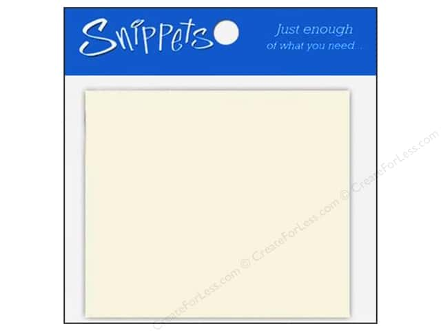 Paper Accents Placecards 3 x 3 1/2 in. Cream 10 pc.
