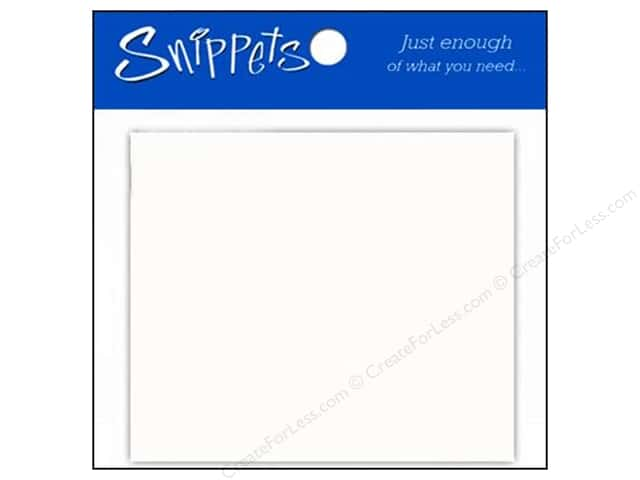 Paper Accents Placecards 3 x 3 1/2 in. White 10 pc.