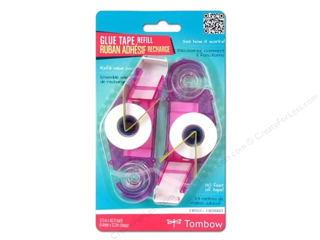 Tombow Adhesive Dot Stamp Runner Refill 2 pc.