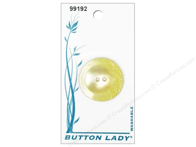 JHB Button Lady Buttons 3/4 in. White #99192 3 pc.