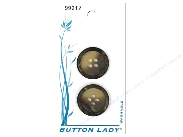 JHB Button Lady Buttons 5/8 in. Camel #99212 4 pc.