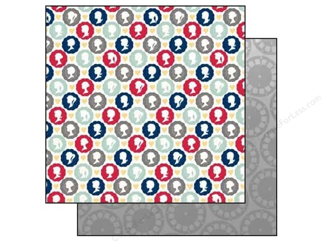 Bo Bunny 12 x 12 in. Paper Modern Miss Collection Charming (25 sheets)