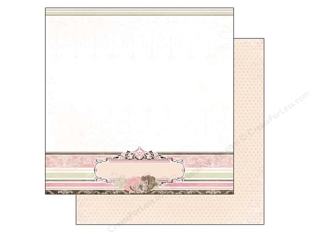 Bo Bunny 12 x 12 in. Paper Primrose Collection Cottage (25 sheets)