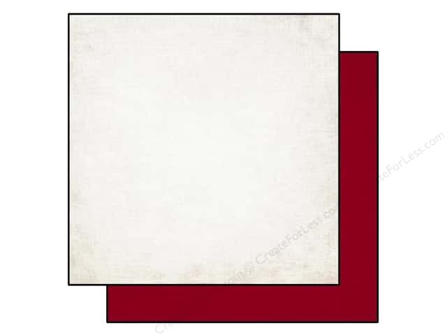 Echo Park 12 x 12 in. Paper Getaway Cream/Red (25 sheets)