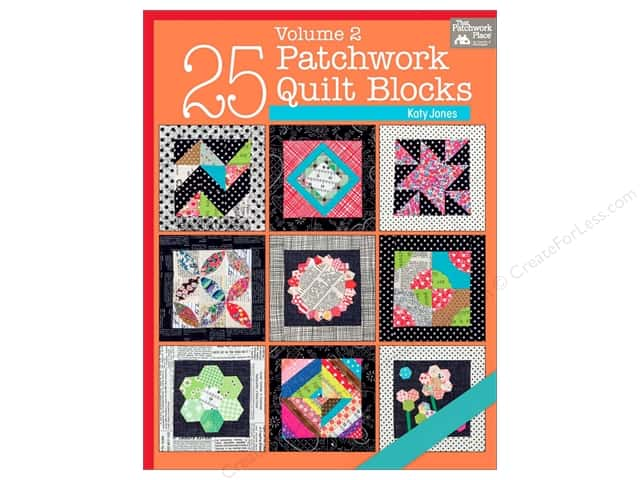 That Patchwork Place 25 Patchwork Quilt Blocks Volume 2 Book by Katy Jones