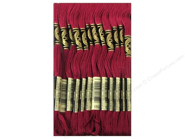 DMC Six-Strand Embroidery Floss #150 Ultra Very Dark Dusty Rose (12 skeins)