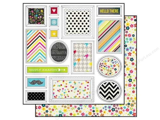 Simple Stories 12 x 12 in. Paper DIY Boutique Freeze Frame (25 sheets)
