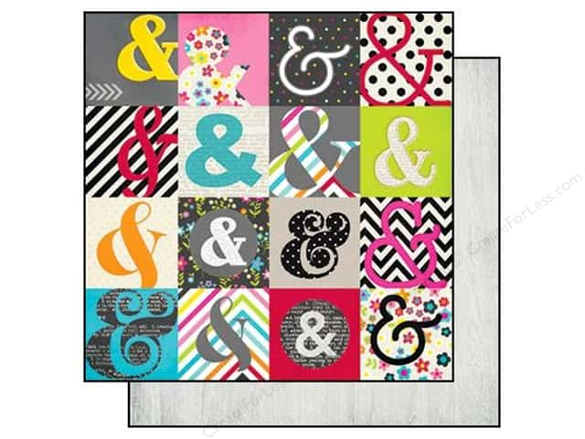 Simple Stories 12 x 12 in. Paper DIY Boutique Outside The Box (25 sheets)