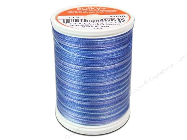 Sulky Blendables Cotton Thread 12 wt. 330 yd. #4056 Periwinkle