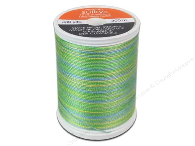 Sulky Blendables Cotton Thread 12 wt. 330 yd. #4120 Springtime