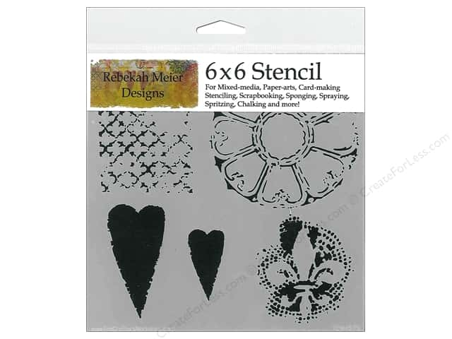 The Crafter's Workshop Template 6 x 6 in. Gothic Romance