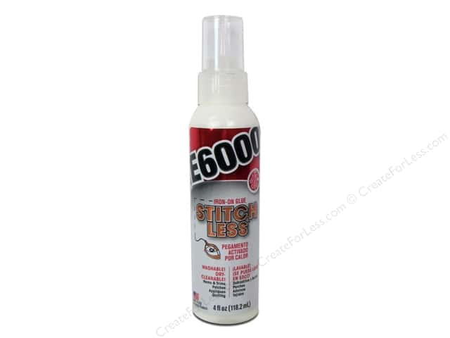 Eclectic Adhesive E6000 Stitch Less Bottle 4oz