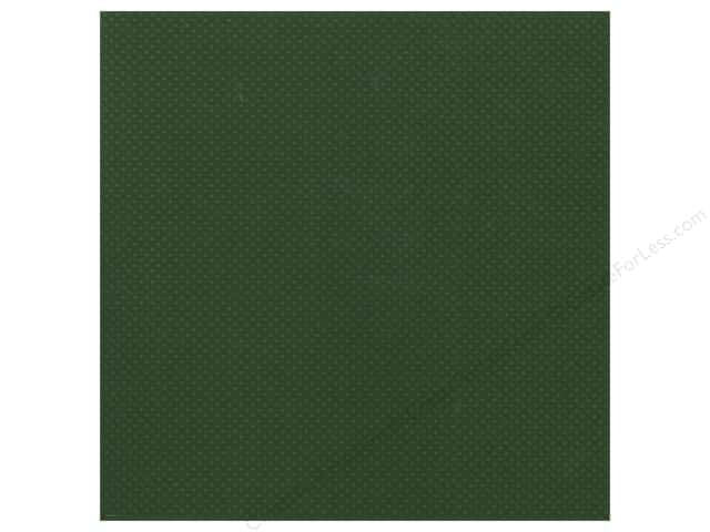 Bazzill Cardstock 12 x 12 in. Dotted Swiss Thicket (25 sheets)