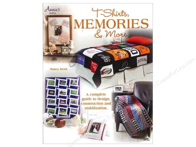 Annie's T-Shirts Memories & More Book by Nancy Scott