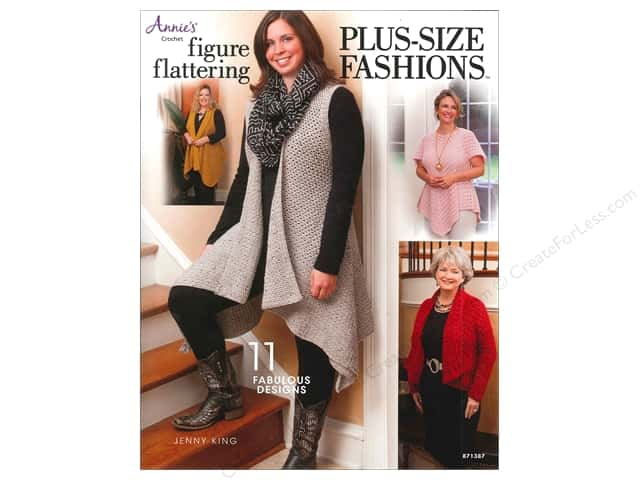 Annie's Figure Flattering Plus Size Fashions Book by Jenny King