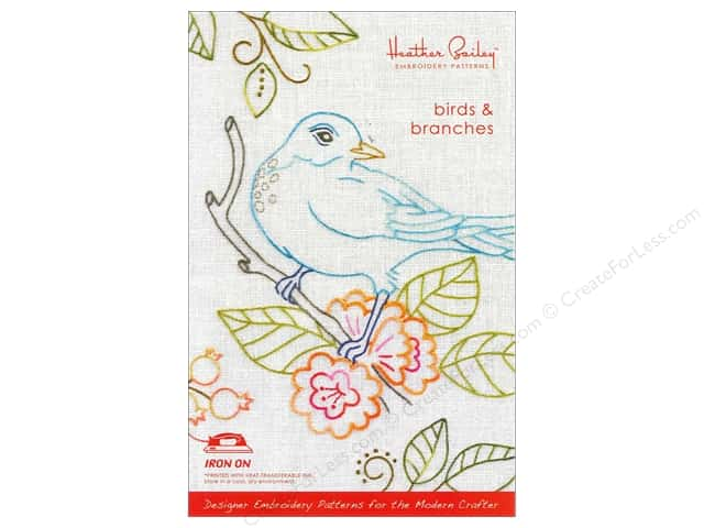 Heather Bailey Birds & Branches Embroidery Pattern
