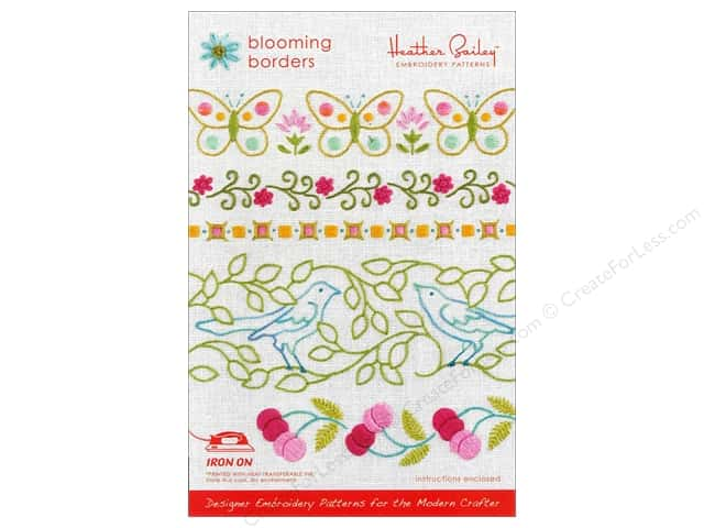 Heather Bailey Blooming Borders Embroidery Pattern