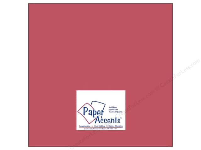 Paper Accents Cardstock 12 x 12 in. #8059 Muslin Brandywine (25 sheets)