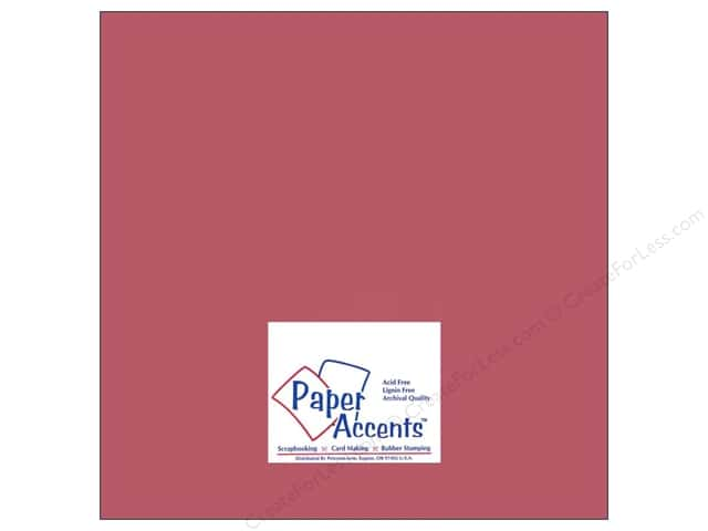 Paper Accents Cardstock 12 x 12 in. #8060 Muslin Brocade (25 sheets)