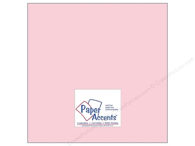 Paper Accents Cardstock 12 x 12 in. #8062 Muslin Blushing (25 sheets)