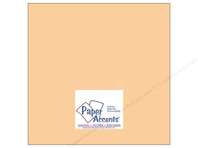 Paper Accents Cardstock 12 x 12 in. #8070 Muslin Quick Sand (25 sheets)