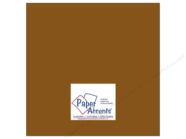 Paper Accents Cardstock 12 x 12 in. #8071 Muslin Pinecone (25 sheets)