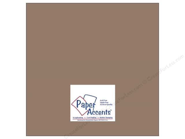 Paper Accents Cardstock 12 x 12 in. #8075 Muslin Dusk (25 sheets)