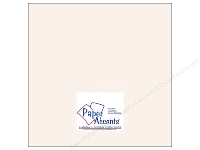 Paper Accents Cardstock 12 x 12 in. #8077 Muslin Avalanche (25 sheets)