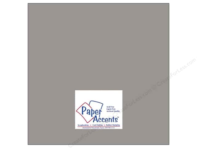 Paper Accents Cardstock 12 x 12 in. #8079 Muslin Nor'easter (25 sheets)
