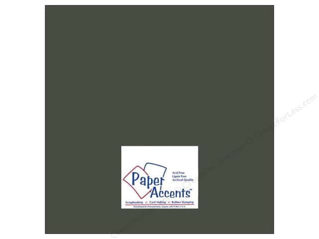 Paper Accents Cardstock 12 x 12 in. #8080 Muslin Midnight (25 sheets)