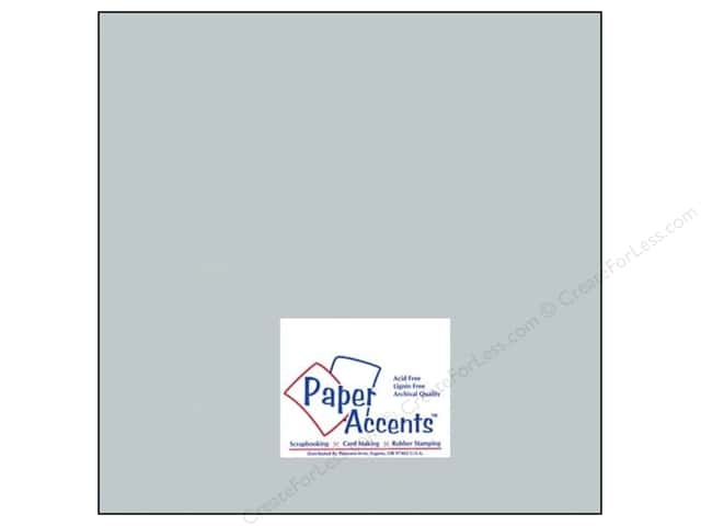Paper Accents Pearlized Paper 12 x 12 in. #897 Slate (25 sheets)