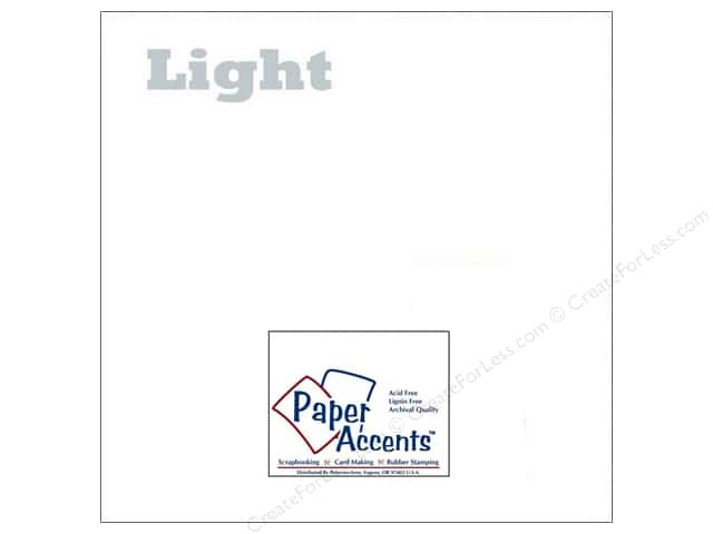 Paper Accents Vellum 12 x 12 in. 21 lb. Light Weight White (25 sheets)