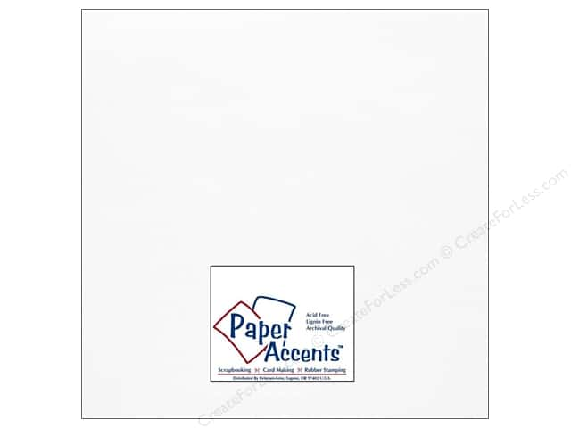 Onion Skin Paper 12 x 12 in. White by Paper Accents (25 sheets)