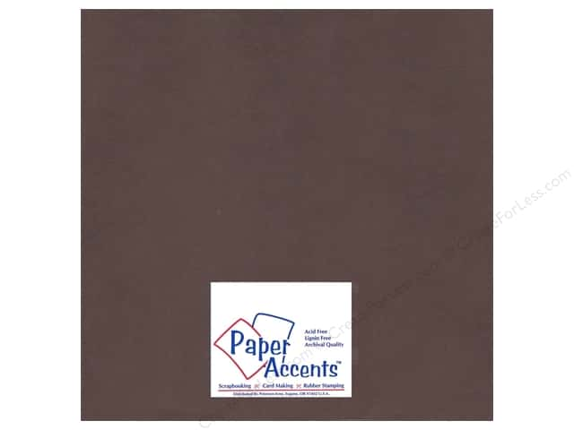 Cardstock 12 x 12 in. #93 Smooth Bon Bon by Paper Accents (25 sheets)