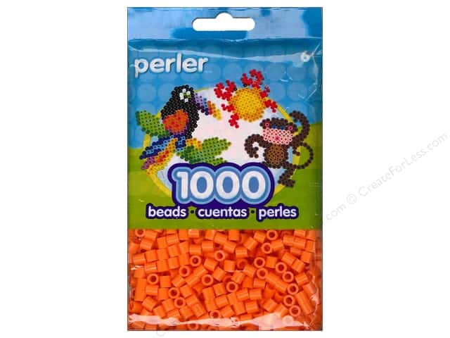 Perler Bead 1000 pc. Orange