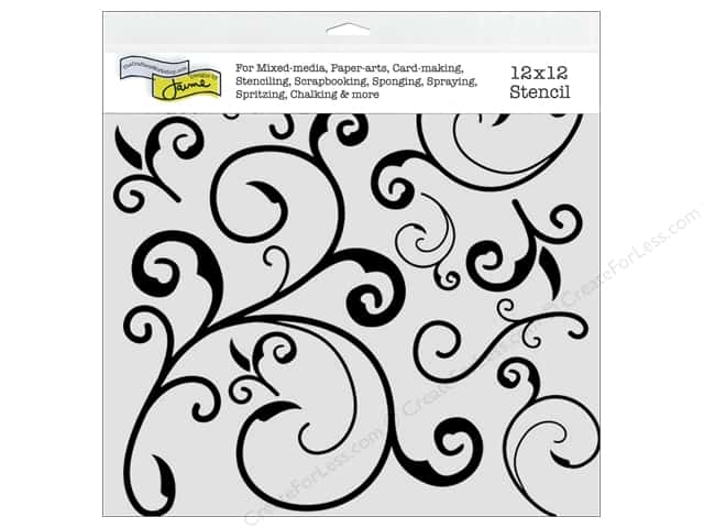 The Crafter's Workshop Template 12 x 12 in. Capricious