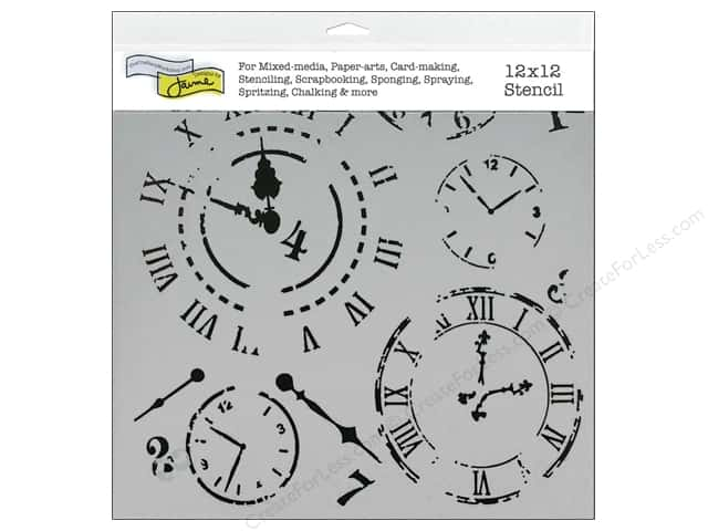 The Crafter's Workshop Template 12 x 12 in. Time Travel