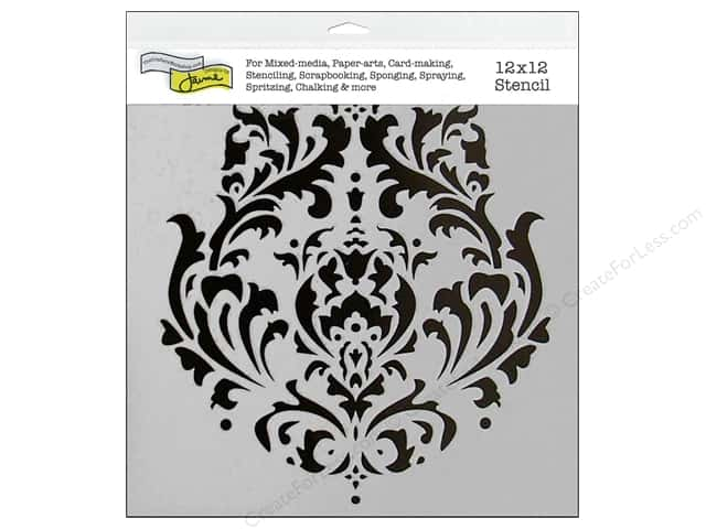 The Crafter's Workshop Template 12 x 12 in. Brocade