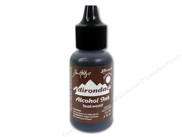 Tim Holtz Alcohol Ink by Ranger .5 oz. Teakwood