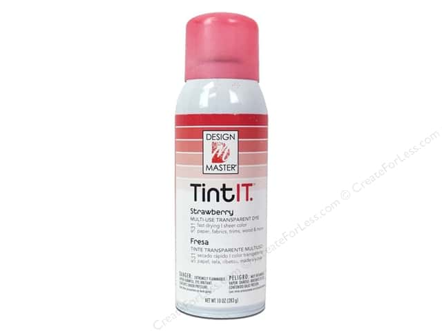 Design Master Tint It 10 oz. Strawberry