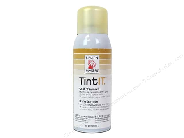 Design Master Tint It 10 oz. Gold Shimmer