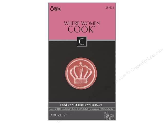 Sizzix Embosslits Dies Crown #2 by Where Women Cook