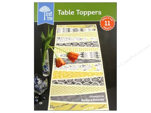 Interweave Press Craft Tree Table Toppers Book