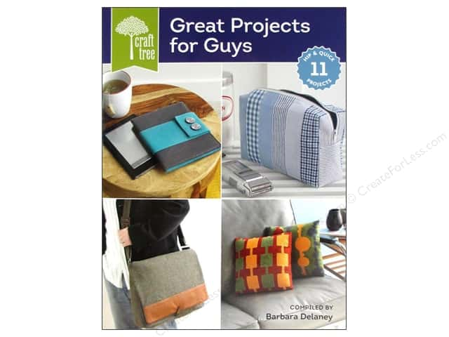 Interweave Press Craft Tree Great Projects For Guys Book