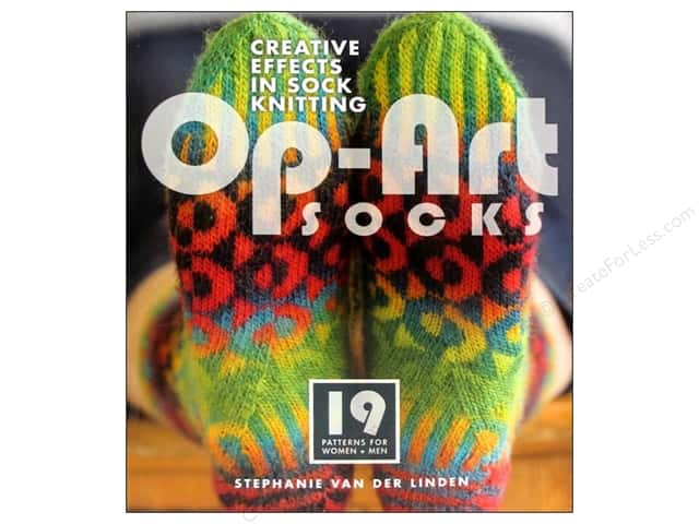Interweave Press Op Art Socks Book