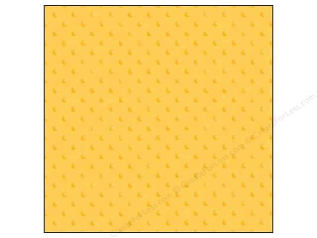Doodlebug 12 x 12 in. Paper Vellum Sprinkles Bumblebee (25 sheets)
