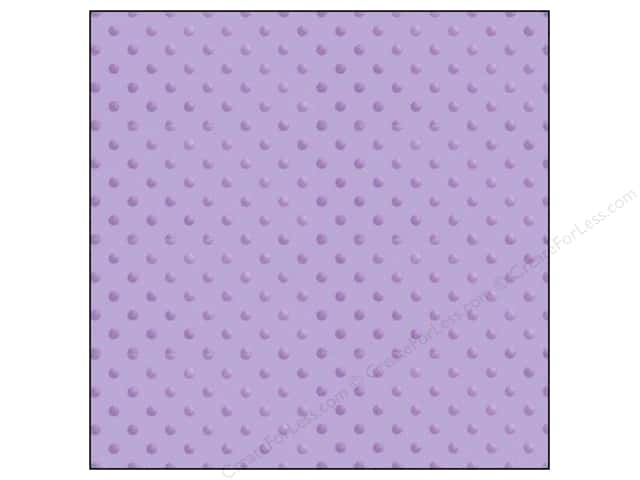 Doodlebug 12 x 12 in. Paper Vellum Sprinkles Lilac (25 sheets)